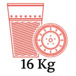 4 BOX - 16kg