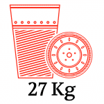 6 BOX - 27kg